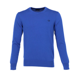 Fred Perry Pull Kobaltblauw