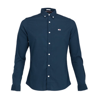 Tommy Jeans Overhemd Donkerblauw