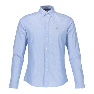 Tommy Jeans Overhemd Blauw