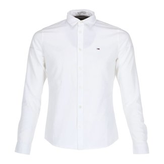 Tommy Jeans Overhemd Wit