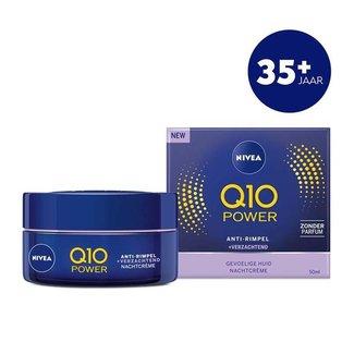 Nivea Q10 Power Sensitive Nachtcrème - 50ml