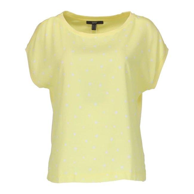 Esprit T-shirt Geel