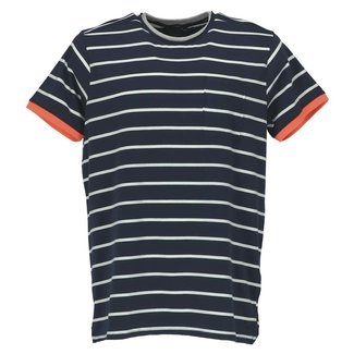 Twinlife T-shirt Donkerblauw