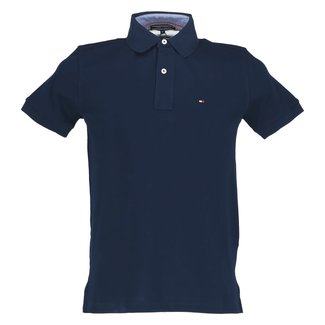 Tommy Hilfiger Polo Donkerblauw
