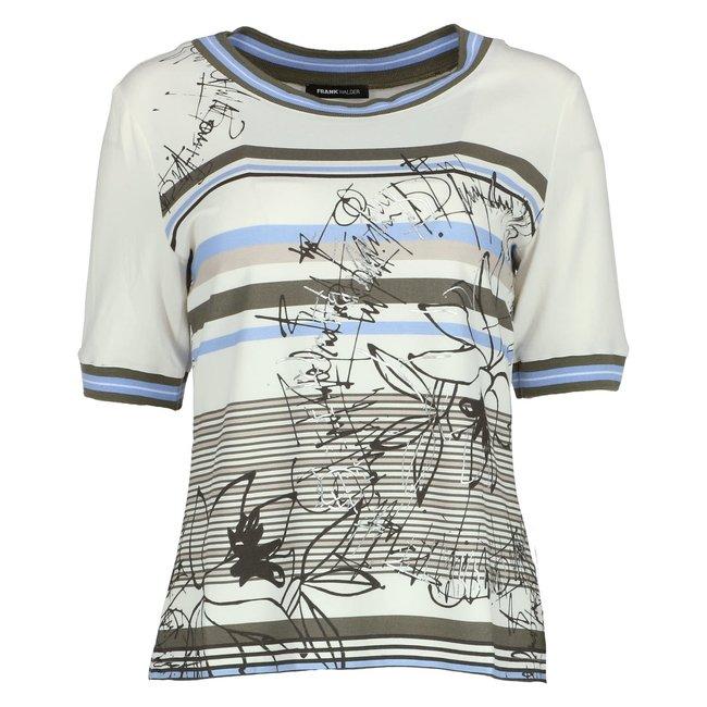 Frank Walder T-shirt Wit