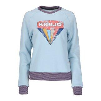 Khujo Sweater Lichtblauw