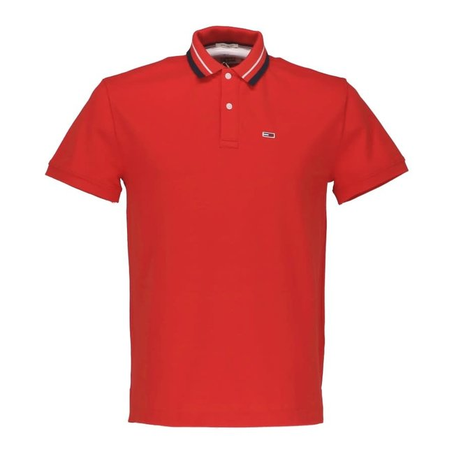 Tommy Jeans Polo Rood