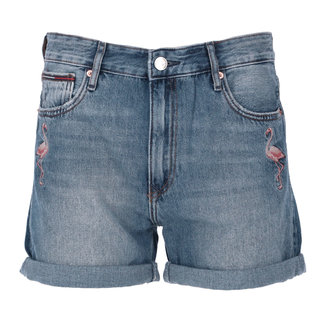 Tommy Jeans Jeansshort Blauw