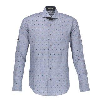 Bogosse Overhemd Colin Blauw