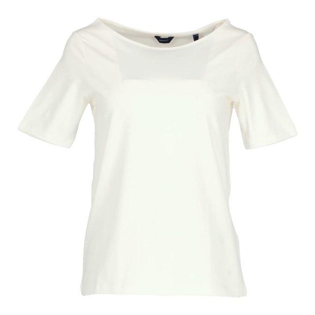Gant T-shirt Wit