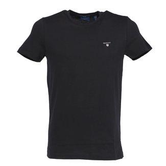 Gant T-shirt Zwart