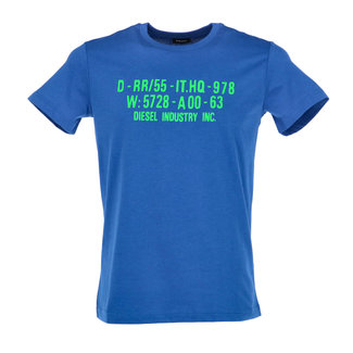 Diesel T-shirt Blauw