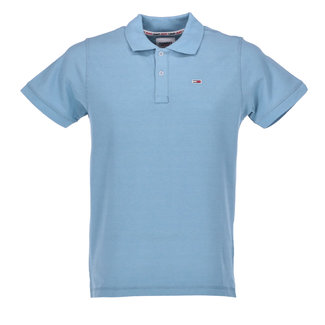 Tommy Jeans Polo Lichtblauw
