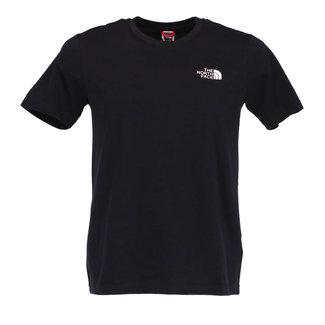 The North Face T-shirt Zwart