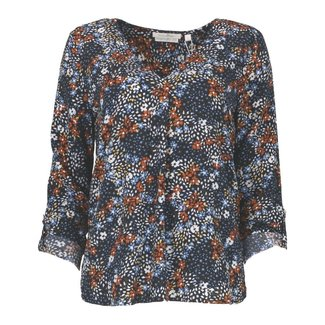 Tom Tailor Blouse Donkerblauw