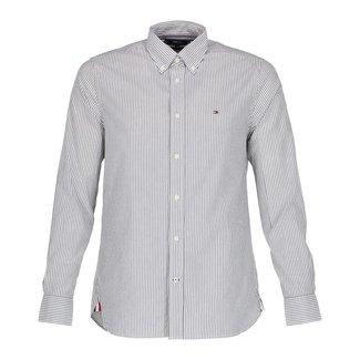 Tommy Hilfiger Overhemd Wit/Grijs