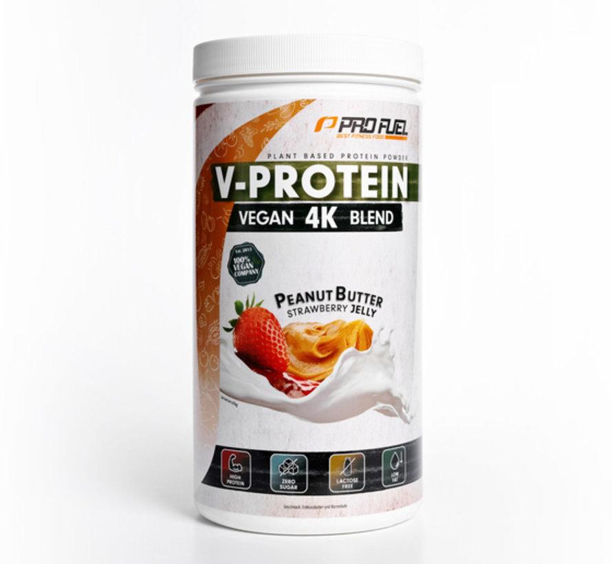 V-Protein Vegan 4K Blend Peanut Butter & Jelly (750 gram)
