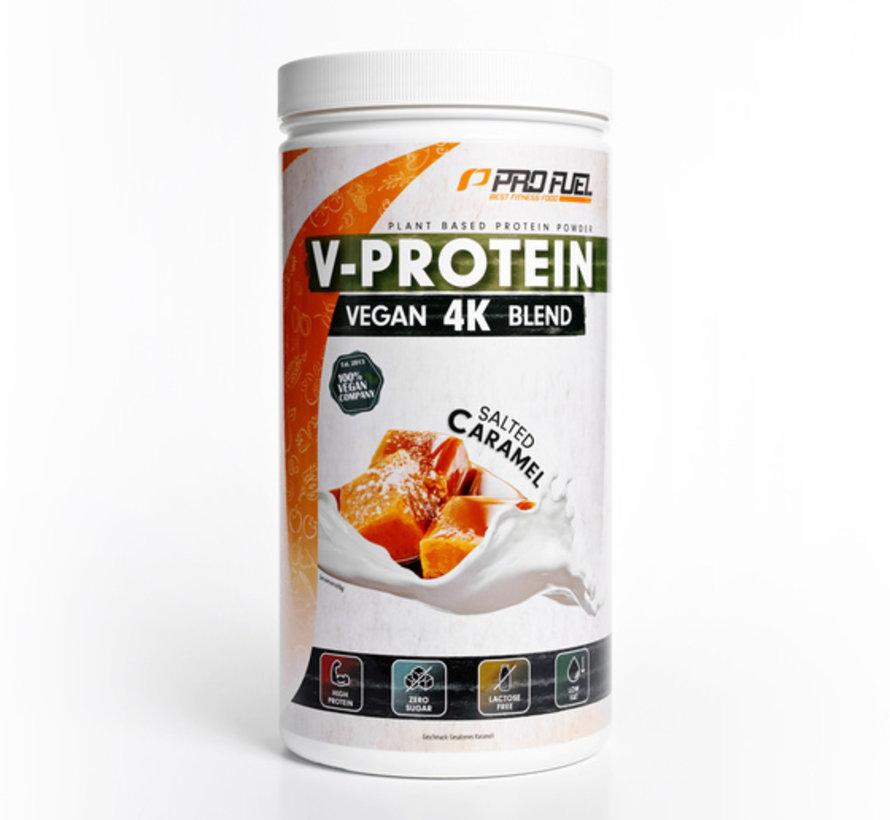V-Protein Vegan 4K Blend Salted Caramel (750 gram)