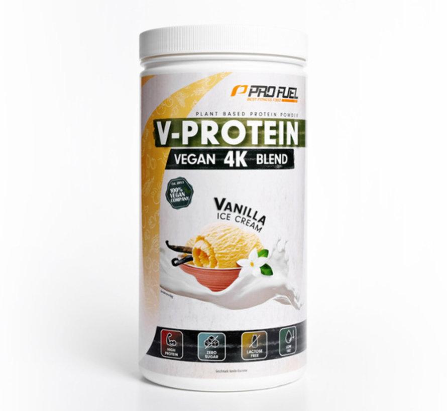 V-Protein Vegan 4K Blend Vanilla Ice Cream (750 gram)