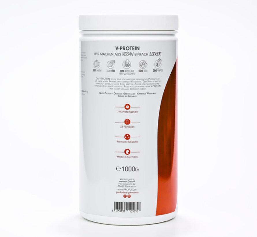 V-Protein Vegan Protein Strawberry (1000 gram)