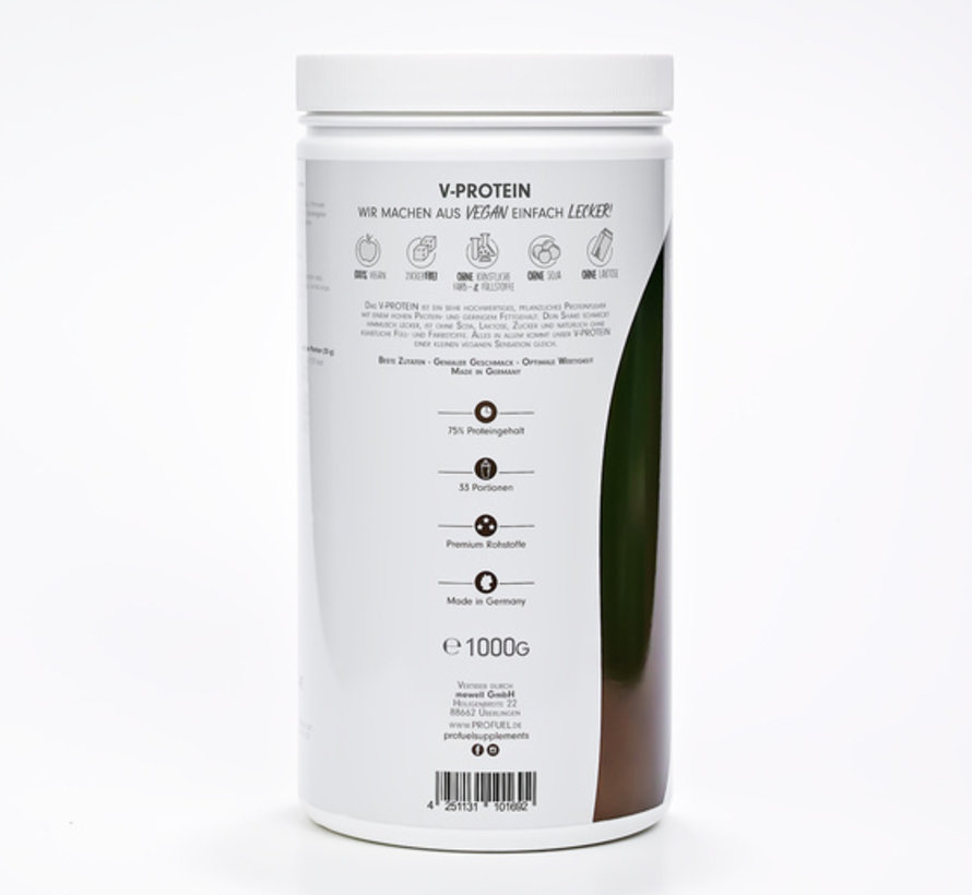 V-Protein Vegan Protein Chocolate (1000 gram)