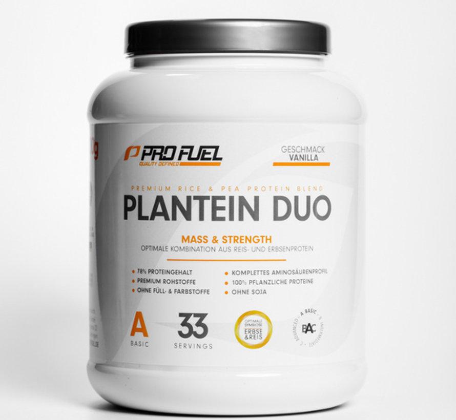 Plantein Duo Vegan Protein Vanilla (1000 gram)