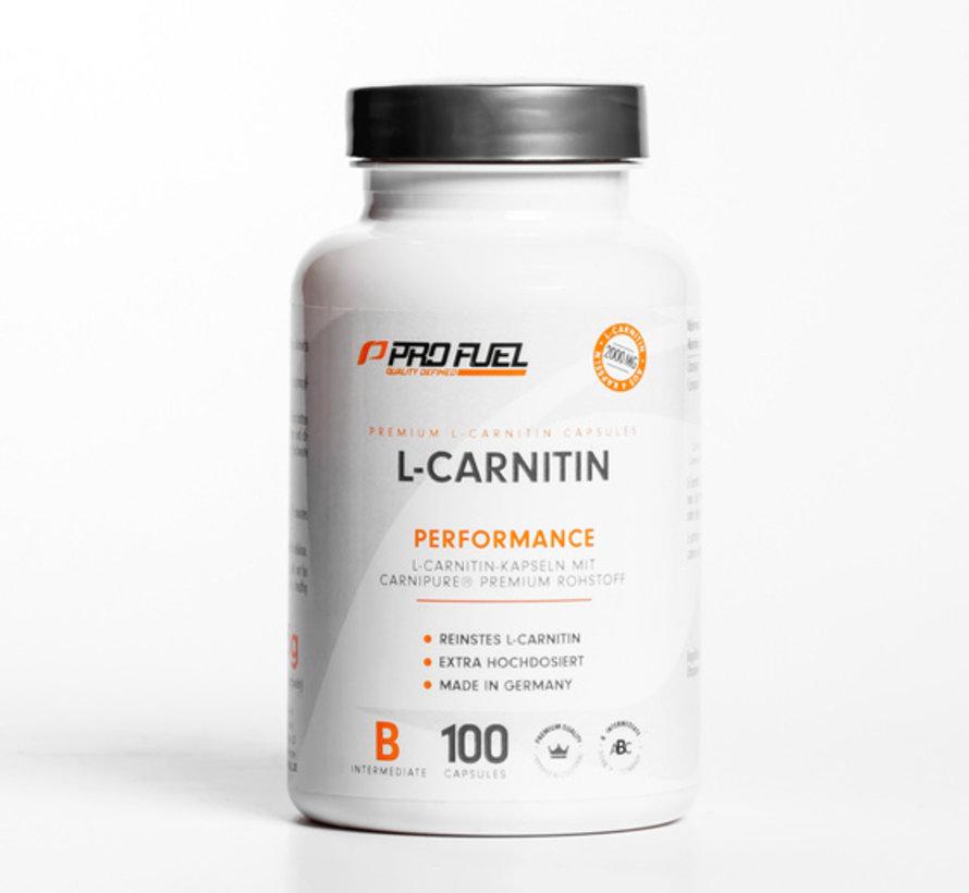 L-CARNITIN Carnipure (100 capsules)