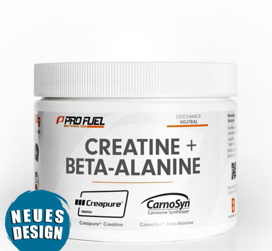 CREATINE + BETA-ALANINE  Creapure & CarnoSyn (300 gram)