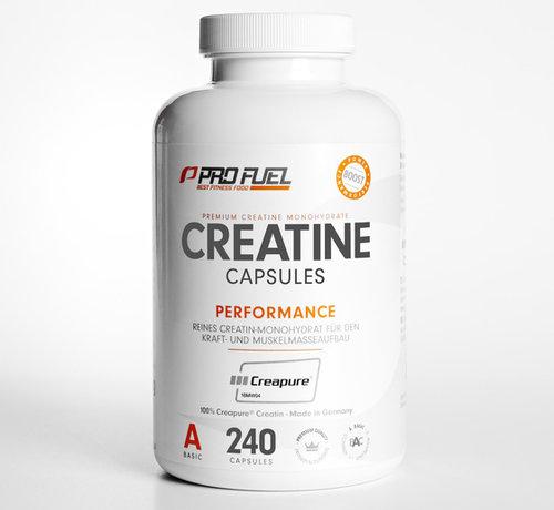 ProFuel CREATINE Capsules  Kreatin-Monohydrat  100% Creapure (240 capsules)