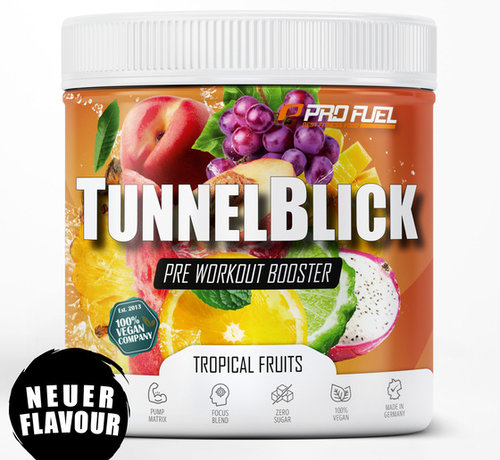 ProFuel TUNNELBLICK Energy Booster Tropical Fruits (360 gram)
