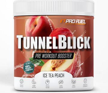 ProFuel TUNNELBLICK Energy Booster Ice Tea Peach (360 gram)