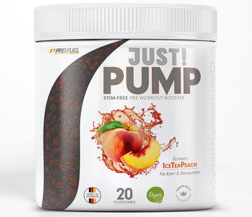 ProFuel JUST! PUMP  Pump-Booster  Ice Tea Peach (400 gram)