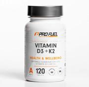ProFuel VITAMIN D3 + K2 100% veganistisch (120 tabletten)