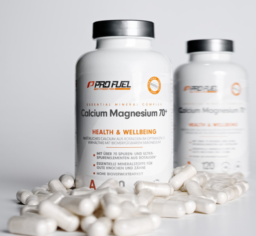 CALCIUM & MAGNESIUM  +70 sporenelementen (120 capsules)