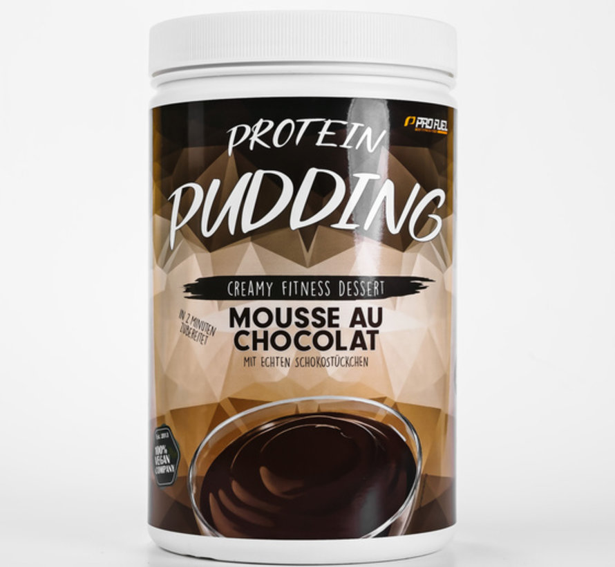 PROTEIN PUDDING  Mousse au Chocolat (600 gram)