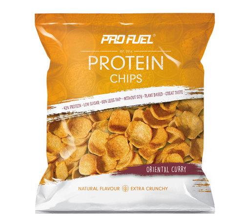 ProFuel HIGH PROTEIN CHIPS  Oriëntaalse Curry 1 zakje (50 gram)