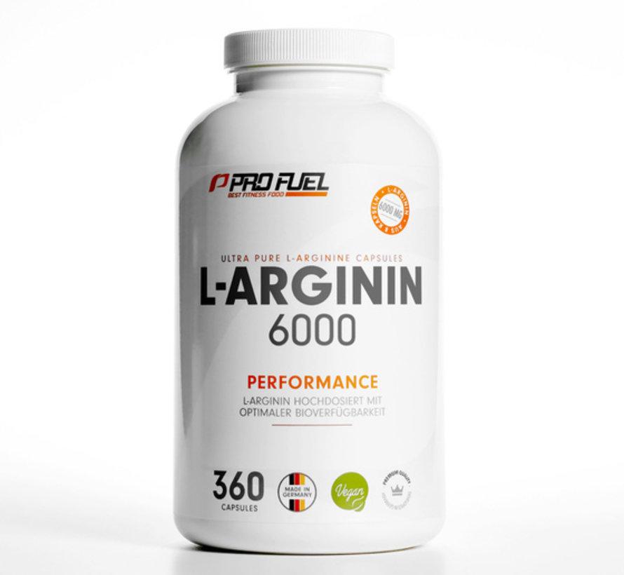 L-ARGININ 6000    360 capsules