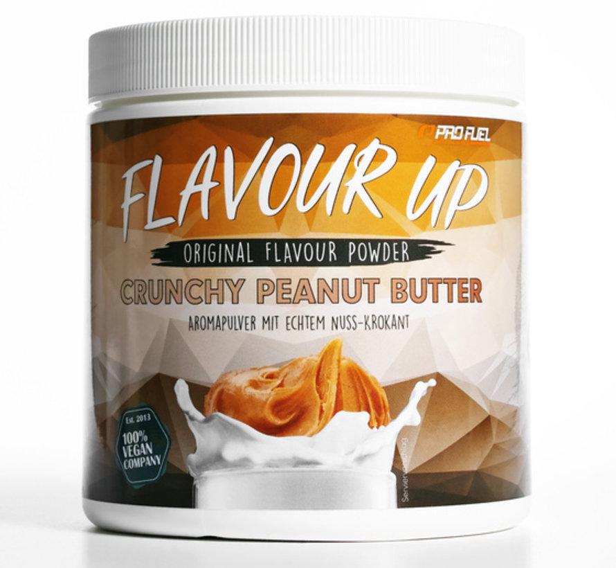FLAVOUR UP Smaakpoeder Crunchy Peanut Butter (280 gram)