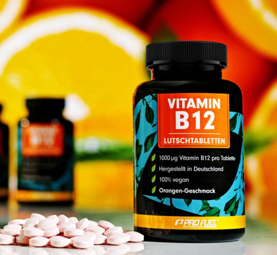 VITAMINE B12  240 zuigtabletten  Orange