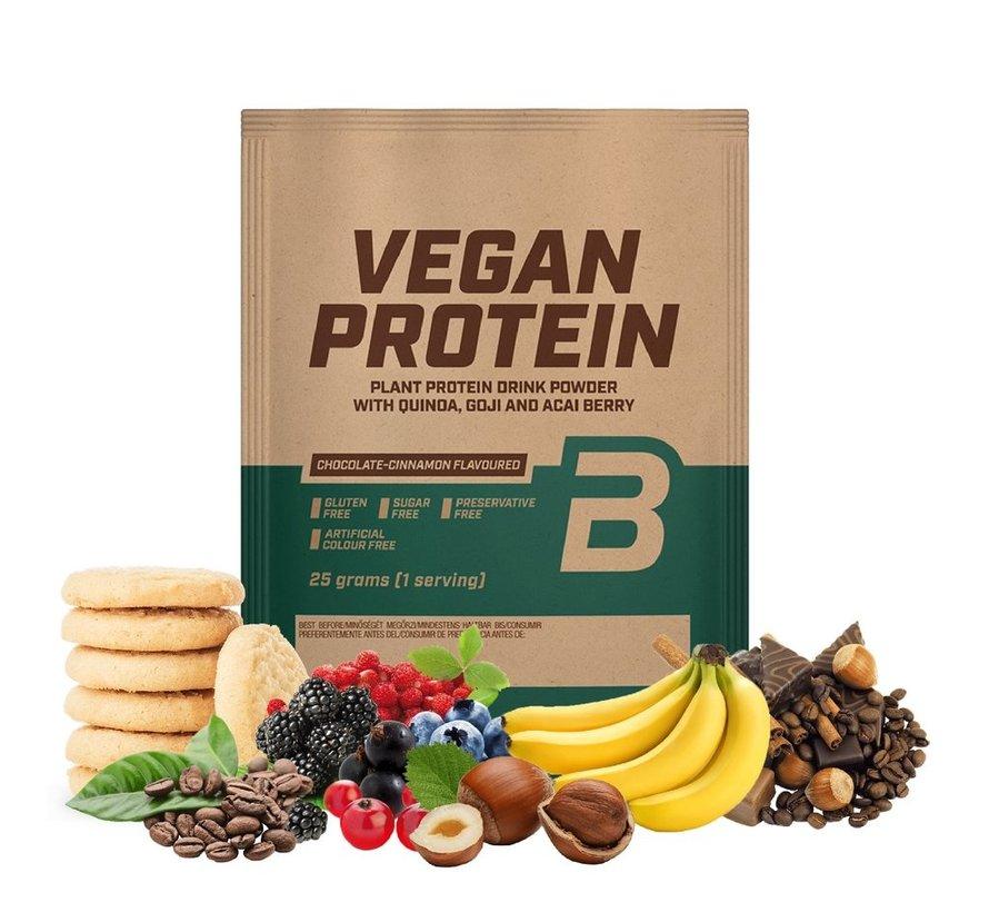Vegan Protein eiwit, 500 gram, hazelnoot