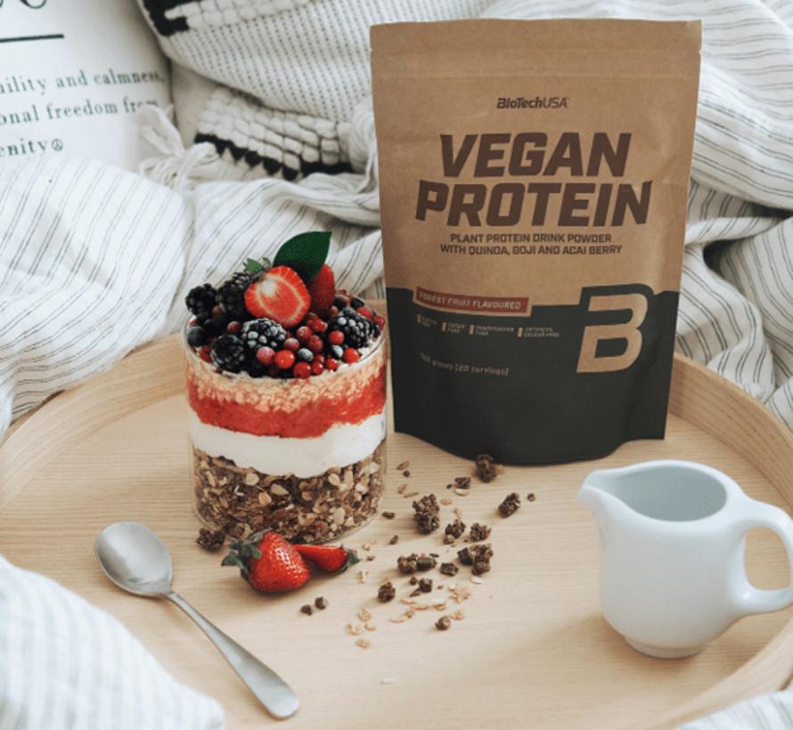 Vegan Protein eiwit, 500 gram, Chocolade-kaneel