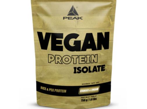 Peak Peformance Vegan Isolate eiwit 750 gram Cookies & Cream