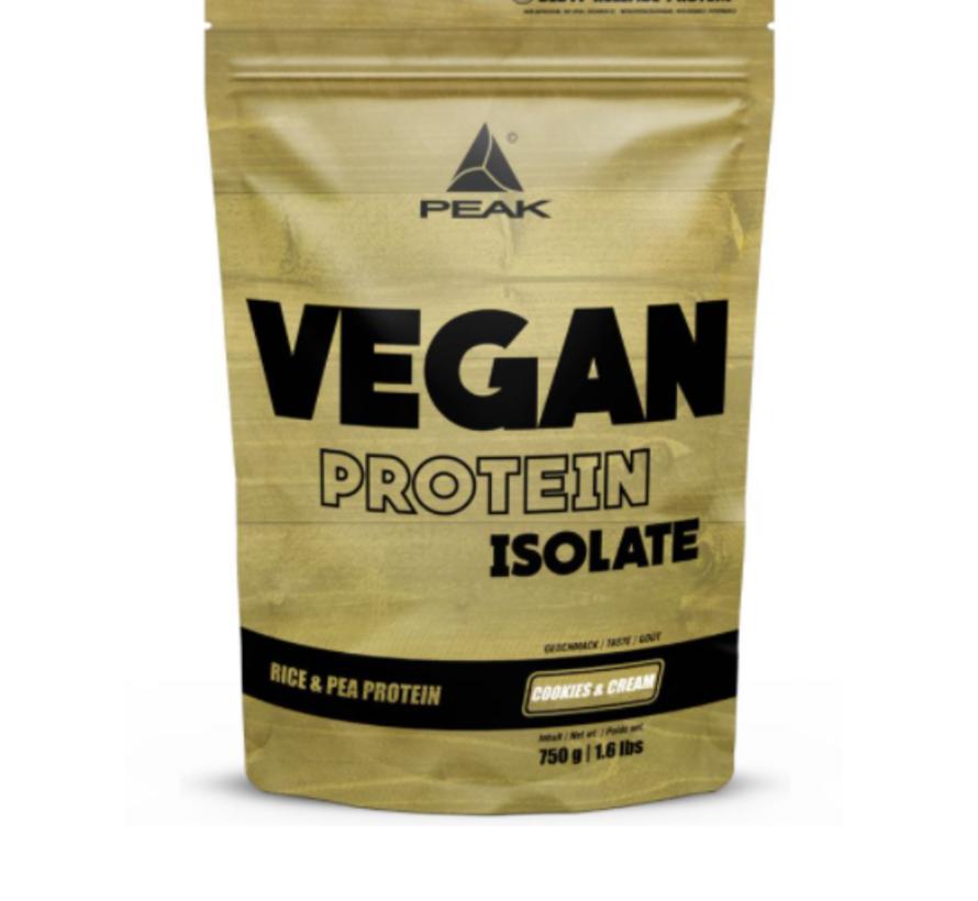Vegan Isolate eiwit 750 gram Cookies & Cream