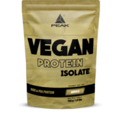 Peak Peformance Vegan Protein Isolate eiwit 750 gram Vanilla