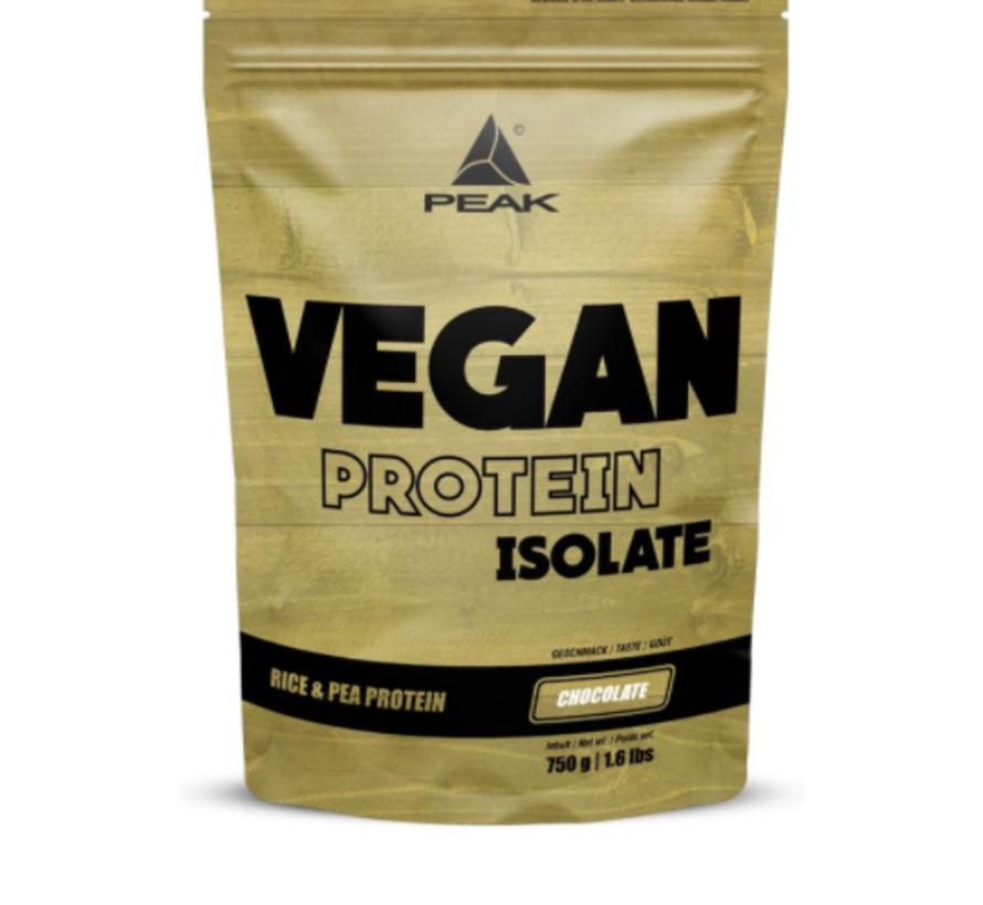 Vegan Protein Isolate eiwit 750 gram Chocolate
