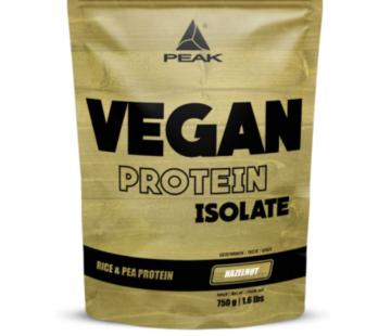 Peak Peformance Vegan Isolate eiwit 750 gram Hazelnut