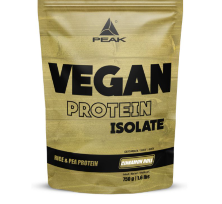 Vegan Isolate eiwit 750 gram Cinnamon Roll