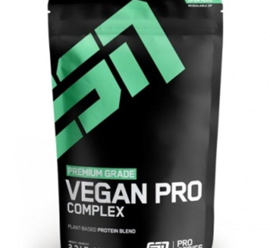 Vegan Pro Complex eiwit, Smooth Chocolate 1000 gram