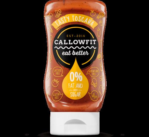 Callowfit tasty toscana saus zonder toevoeging van vet en suiker.
