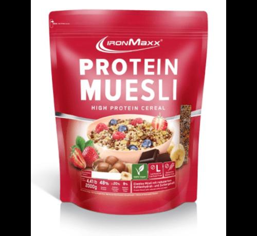 IronMaxx Protein Muesli Strawberry 550 gram